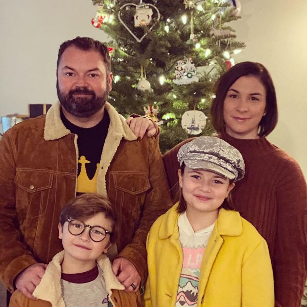 Ryder Allen with his family
