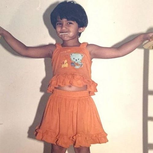 Santoshi Shetty's childhood picture