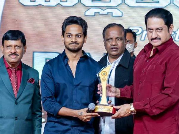 Shanmukh Jaswanth at Padmamohana YouTube Awards (2020)