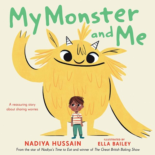 The book My Monster and Me by Nadiya Hussain