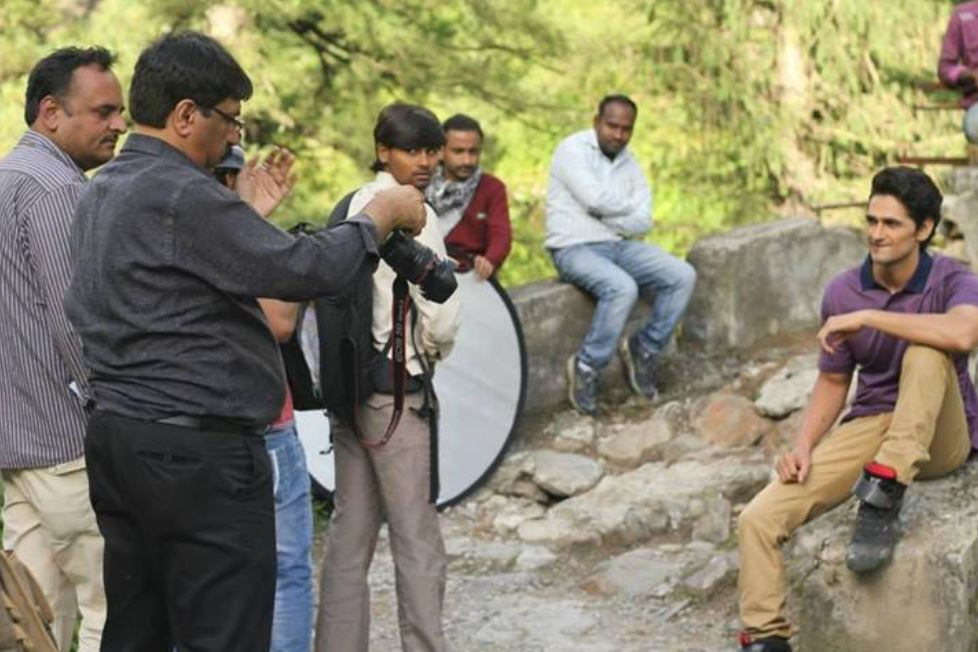 Vikas Khoker during a photoshoot