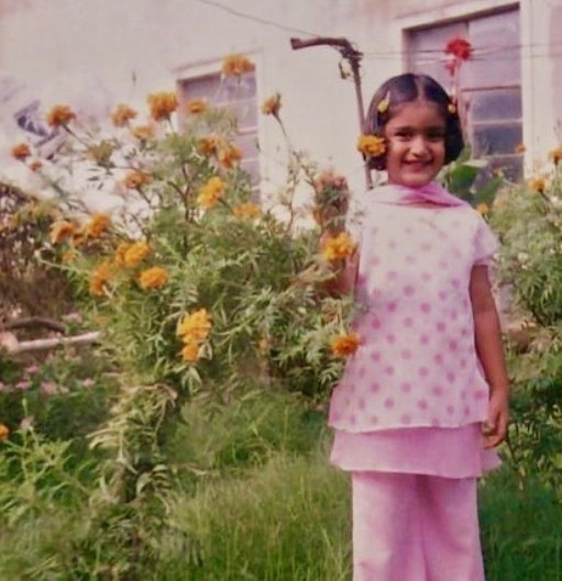 Childhood picture of Niharika NM