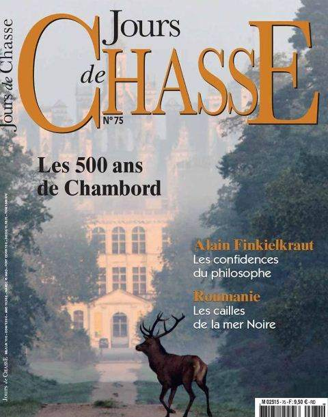 Cover of Jours de Chasse