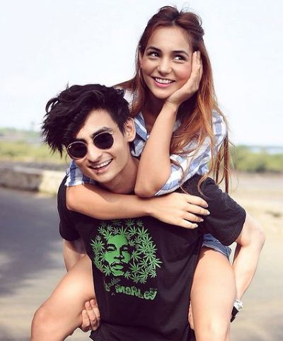 Kat Kristian with her brother