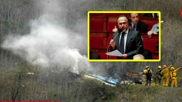 Olivier Dassault's helicopter crash picture