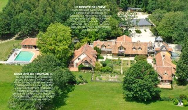 Olivier Dassault's property in Sologne
