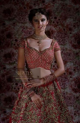 Pallak Yadav's bridal photoshoot