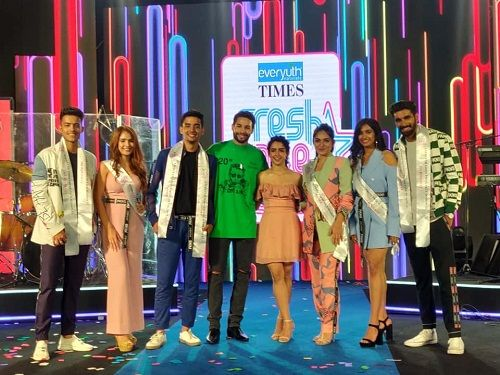 Piyush Manwani in Everyuth Times Fresh Face Season 12