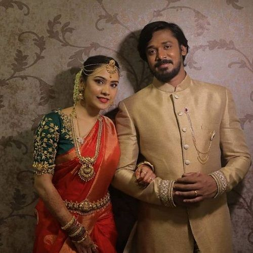 Rajeev's engagement picture