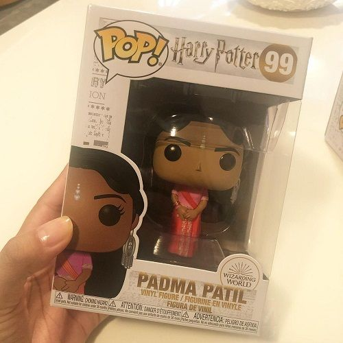 A doll of Afshan Azad's character in the Harry Potter series