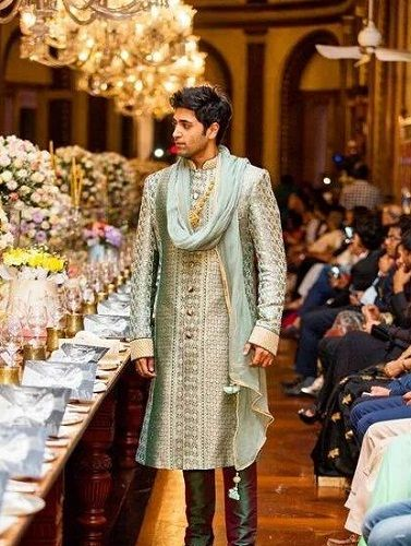 Adivi Sesh walking the ramp in a fashion show