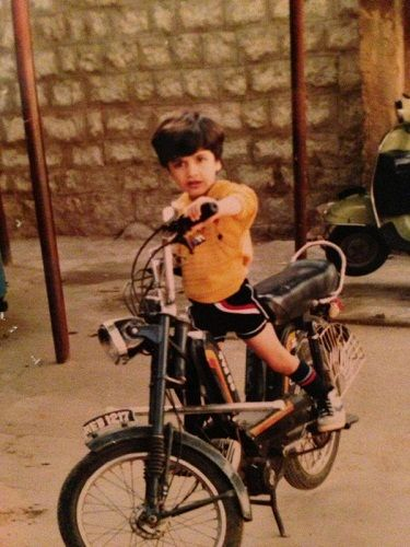 Adivi Sesh's childhood picture