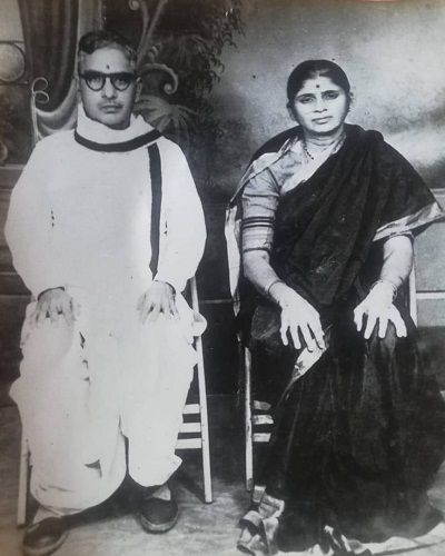 Adivi Sesh's grandparents