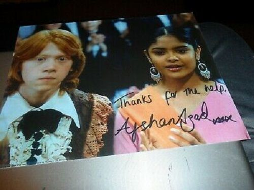 Afshan Azad's autograph