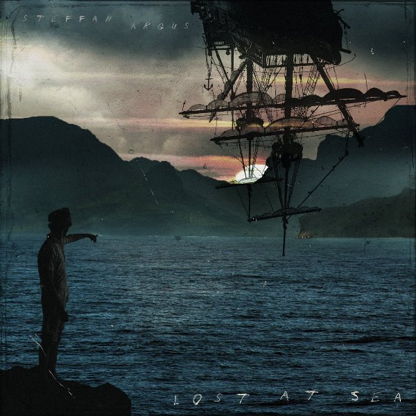 Cover of the EP 'Lost At Sea' (2017) by Fin Argus