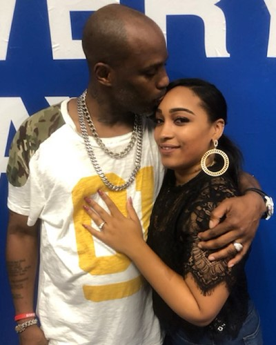 Desiree Lindstrom with Earl Simmons a.k.a. DMX