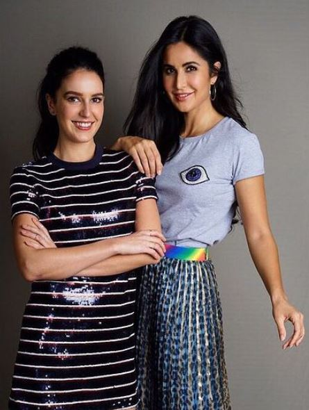 Isabelle Kaif with her sister
