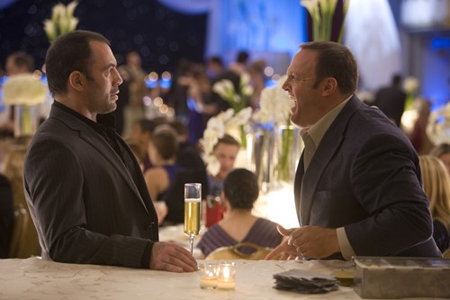 Joe Rogan with Kevin James in a still from Zookeeper (2011)