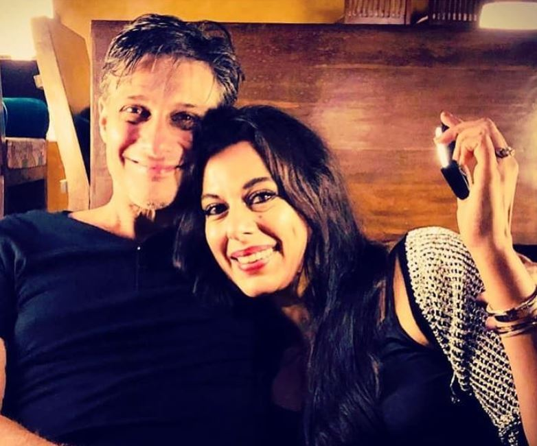 Maneck Contractor and Pooja Bedi