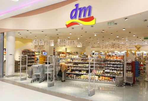 Photo of the dm store