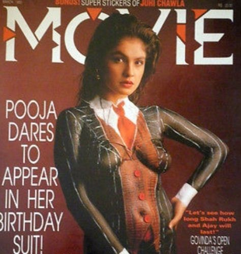 Pooja Bhatt featured on a magazine cover