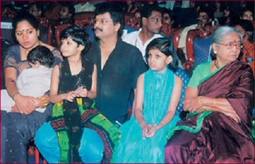 Vivek with his family