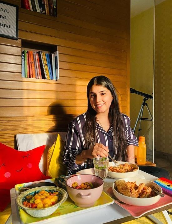 Chetna Sharma loves to eat different dishes