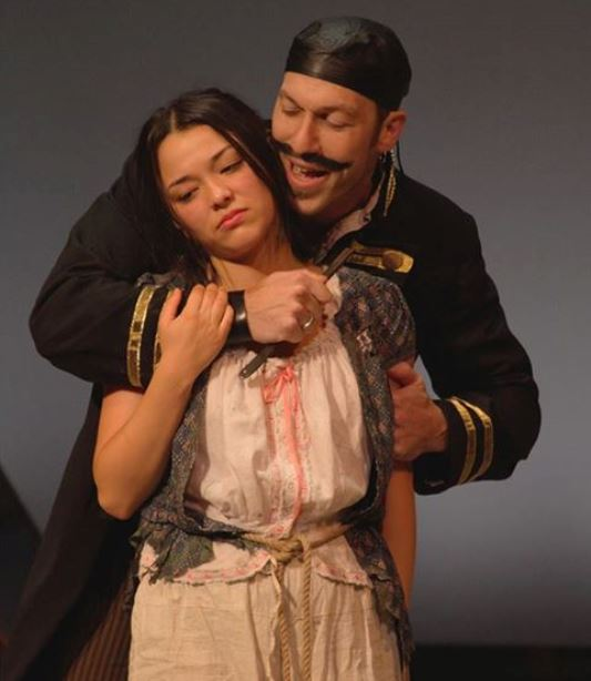 Midori Francis (as Molly) in the Virginia Stage Company production of Peter and the Starcatcher (2015)