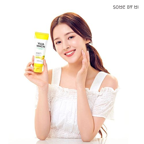 Nancy in an advertisement for Some By Mi