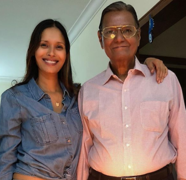 Ujjwala Raut with her father