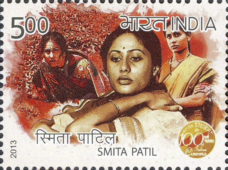 A postage stamp bearing Smita Patil's face was released by India Post to honor her in 2013