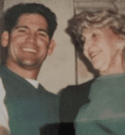 Grant Cardone with his mother