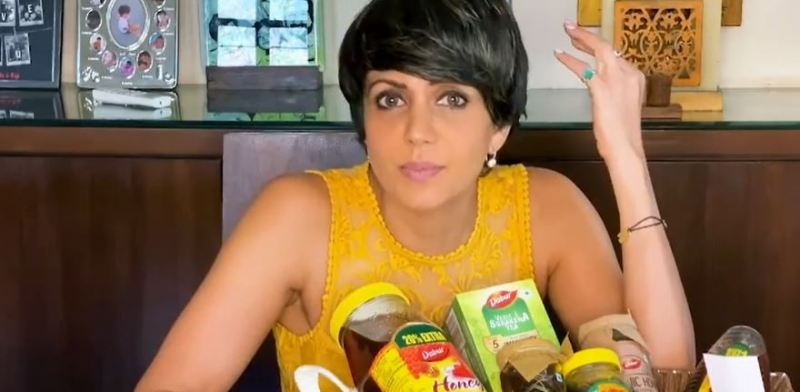 Mandira while promoting healthier consumable products