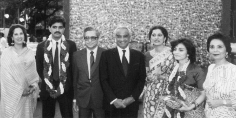 Marriage photo of Zia Mody and Jaydev Mody
