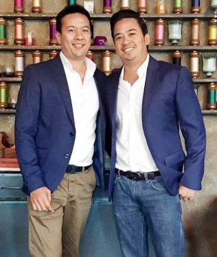 Ryan Tham and his brother