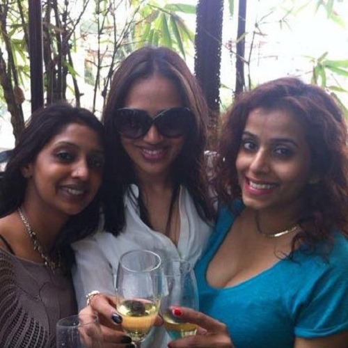 Seema Patil with her friends