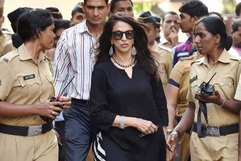 Shobhaa De with police security when she criticised the Maharashtra government for making screening of Maratha films mandatory for multiplexes during prime time