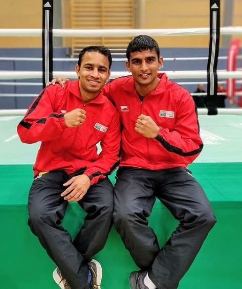 Amit Panghal with his brother