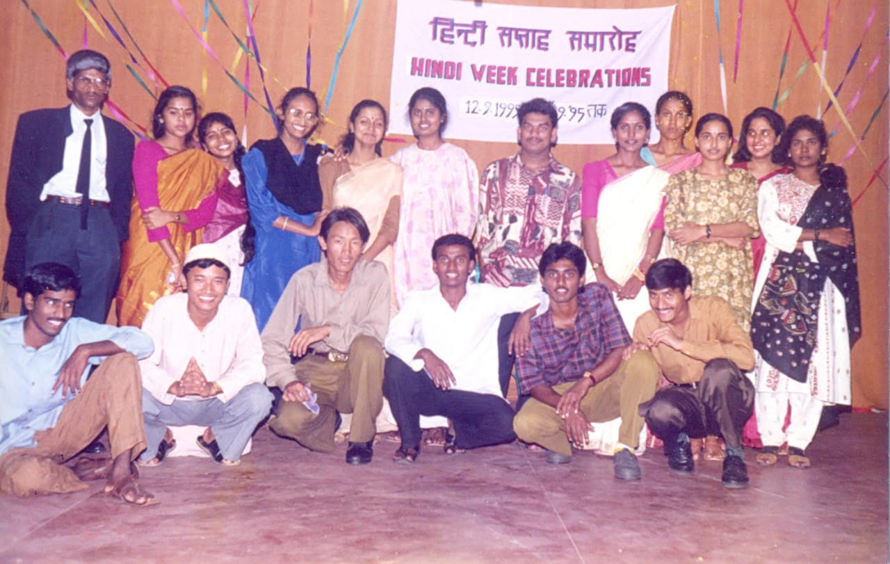 Kathi Mahesh in his college days