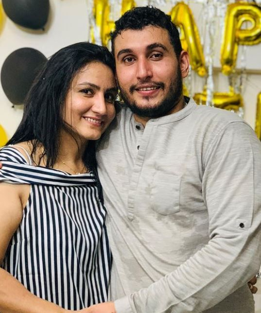 Pooja Rani with her brother