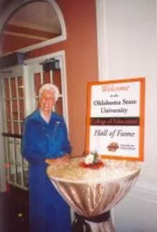 Wally Funk inducted into the Oklahoma State University's Aviation Hall of Fame