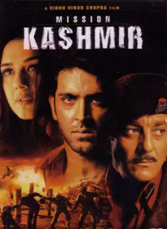 A poster of the film Mission Kashmir