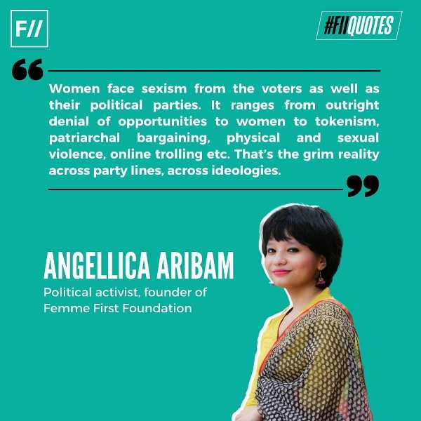 A quote by Angellica Aribam