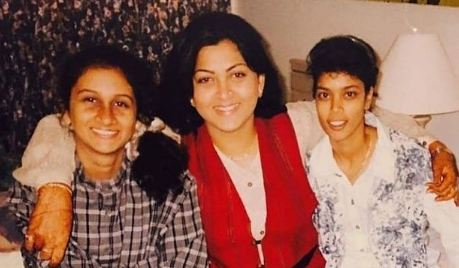 An old picture of Kushboo Sundar