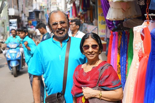 Anandha Kannan's father and mother