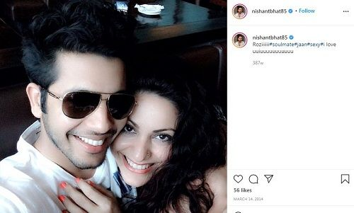 Nishant Bhat's Instagram post about Rosii