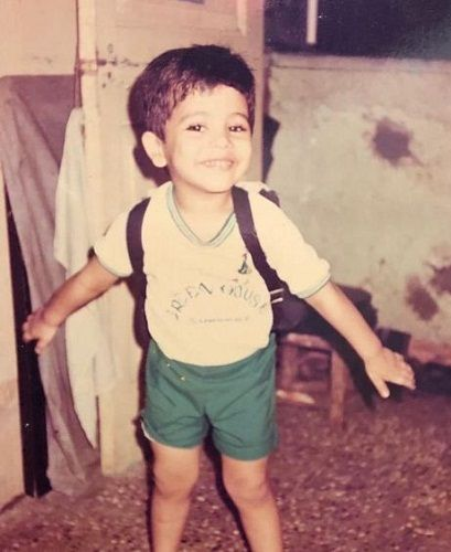 Nishant Bhat's childhood picture