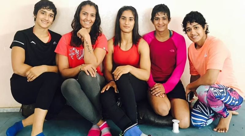 Phogat sisters in one frame