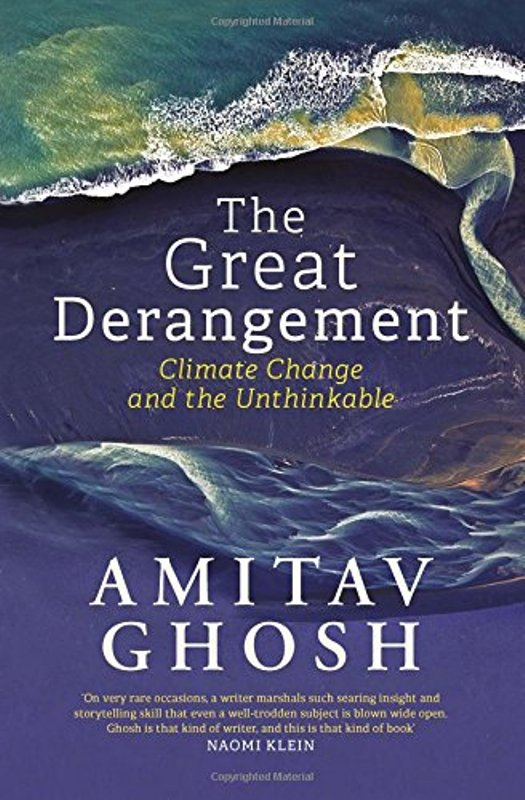 The book on climatic change by Amitav Ghosh