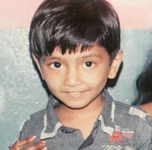 Tushar Silawat's childhood picture